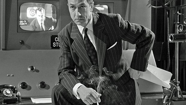 Actor David Strathairn as Edward R. Murrow in a scene from Good Night and Good Luck. Many governments continue to provide generous subsidies to the U.S. film industry to produce youth-rated films that contain smoking.