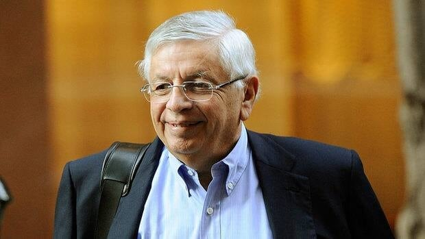 NBA Commissioner David Stern arrives for NBA labour negotiations at Sheraton New York Hotel & Towers in New York City.
