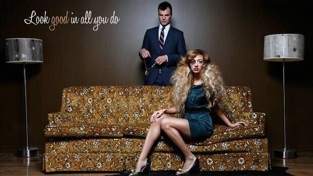 This ad for an Edmonton hair salon has online critics calling for a boycott.