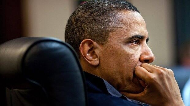 In this image released by the White House, U.S. President Barack Obama listens on Sunday during one in a series of meetings to discuss the mission against Osama bin Laden.