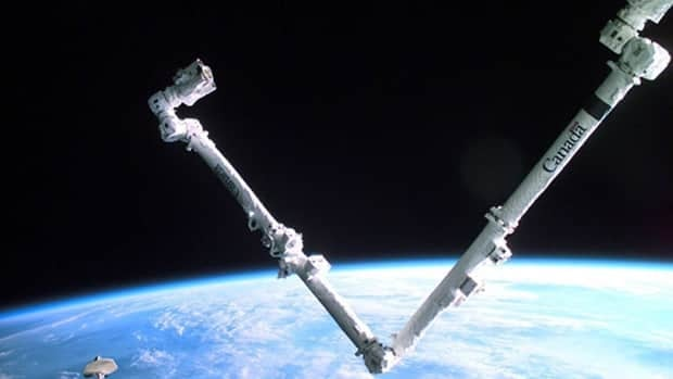 The Canadarm2 helped build the orbiting outpost and continues to do the heavy lifting today as it maintains the station.