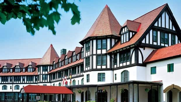 The historic Algonquin Resort reopened Wednesday after almost two years of renovations.
