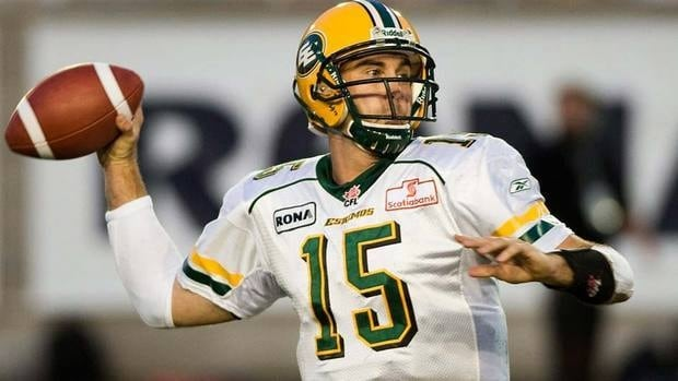 Ricky Ray had spent his entire nine-year CFL career with Edmonton, leading the Eskimos to two Grey Cup championships over that span.