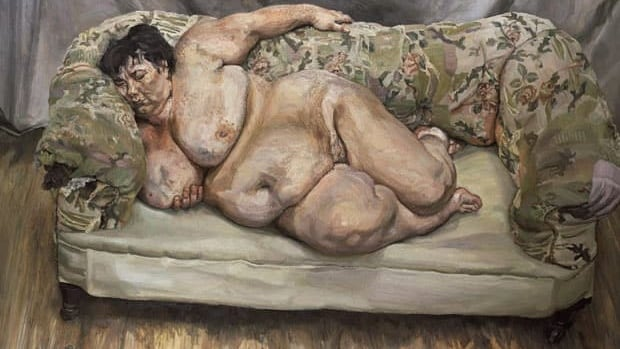 Lucian Freud's Benefits Supervisor Sleeping sold in 2008 for $33.6 million US. Freud died Wednesday.