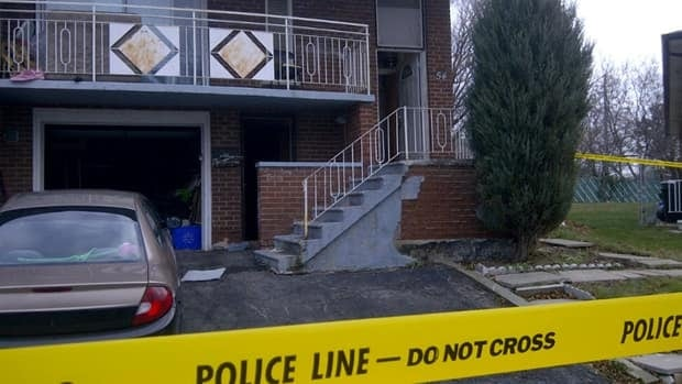 Police found a 23-year-old man shot dead inside this house in Brampton on Sunday.