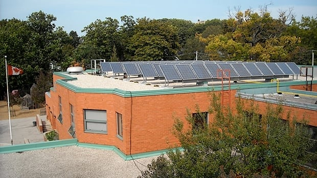 Solar panels will be installed on schools starting next spring.