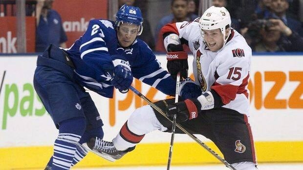 Saturday night's Hockey Night in Canada game between the Toronto Maple Leafs and the Ottawa Senators set a record of 2.359 million viewers.