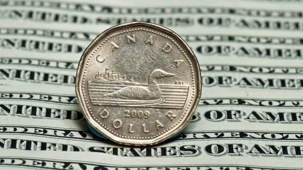 The Canadian dollar moved upwards after positive GDP figures were announced. (Canadian Press)