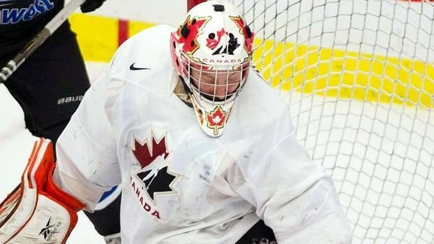 One fan was not amused with the news that goaltender Tyler Bunz was cut from Canada' s world junior hockey team.