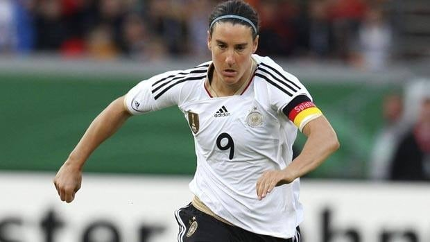 Birgit Prinz and Germany take on Japan in the quarter-finals of the Women's World Cup.