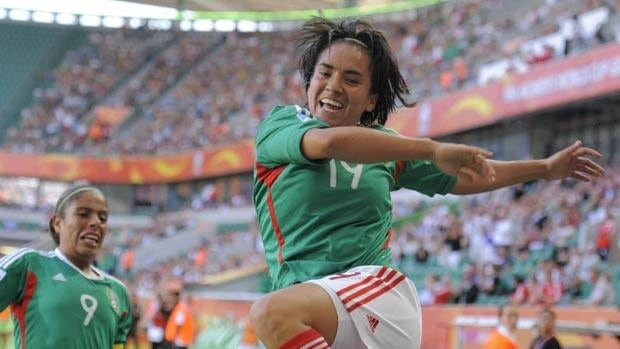 Mexico's Monica Ocampo scored a highlight reel goal in a 1-1 draw against England.