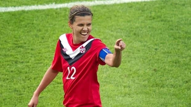 Women's soccer captain Christine Sinclair will carry Canada's flag into the opening ceremonies Friday
