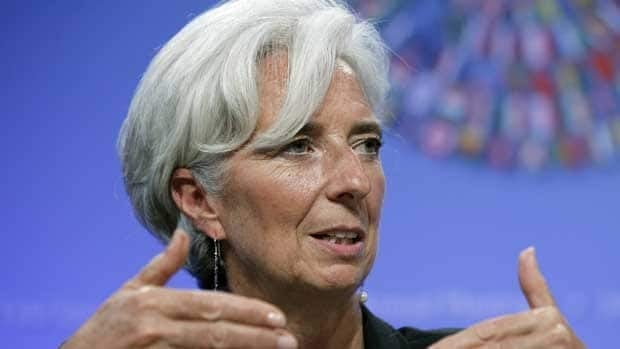 IMF managing director Christine Lagarde said officials agreed to act decisively to tackle the dangers confronting the global economy.