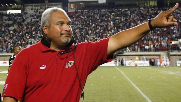 The Ottawa Renegades didn't enjoy much success, but they did in August 2003 as then-head coach Joe Paopao celebrated his team's 43-38 win over the Montreal Alouettes.