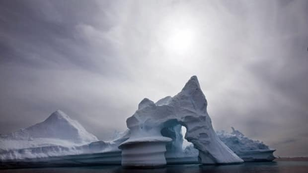 Arctic ice is melting faster than previously thought, raising projections of global sea level rise this century.