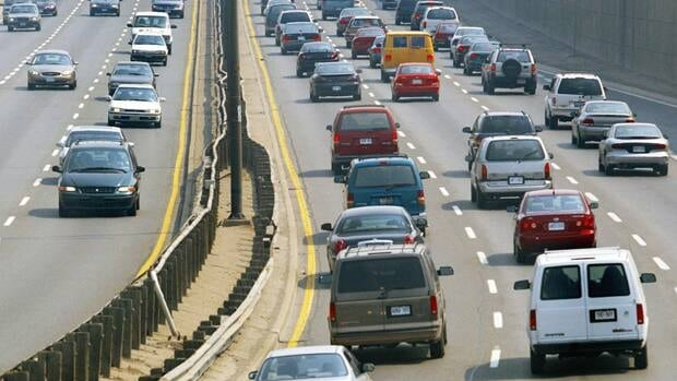Commuters in Toronto, like those in many of Canada's largest cities, often get caught in bumper-to-bumper traffic.