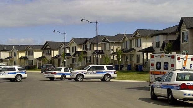 Calgary Police used detonations and tear gas over the course of eight hours in an attempt to clear the supposed occupants of a home in the 900-block of Taradale Drive NE.
