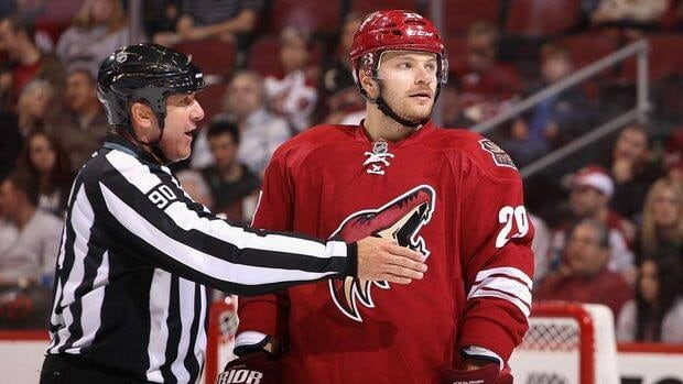 Petteri Nokelainen registered one assist in five games with the Coyotes this season.
