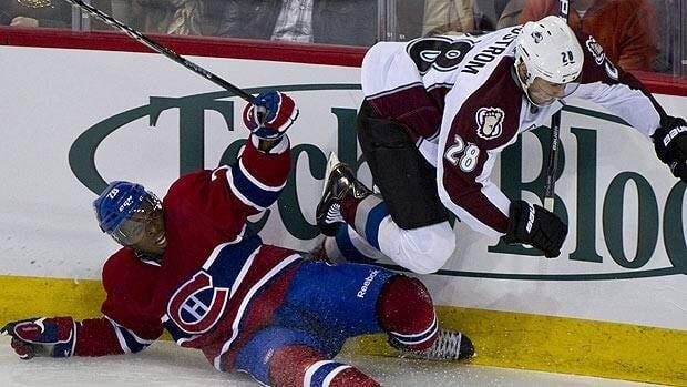 Montreal defenceman P.K. Subban had his struggles Saturday night in a shootout loss at home to Colorado.