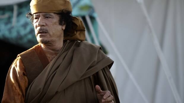 Ex-Libyan leader Moammar Gadhafi was captured and reportedly injured by Libyan revolutionary forces outside his hometown of Sirte on Oct. 20.