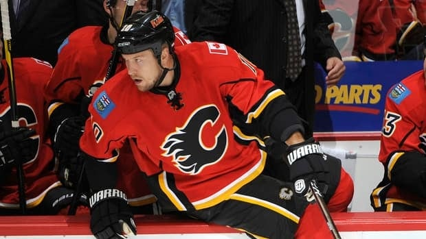 Calgary Flames forward Niklas Hagman has been assigned to the Abbotsford Heat of the AHL.