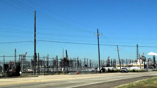 If TransCanada's Keystone XL pipline goes ahead, refineries like this one at Port Arthur, Texas, will process the bitumen.