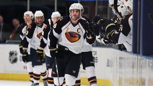 The Thrashers may be moving to Winnipeg, but it's not a done deal yet.