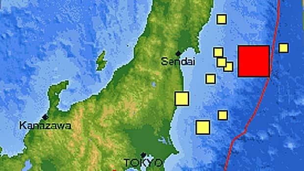 The 7.1-magnitude earthquake rattled Japan's northeast Sunday morning, prompting tsunami warnings for the area.