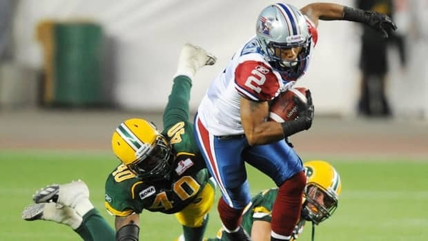 Montreal's Brandon Whitaker was named the top offensive player for September, registering 65 carries for 367 yards, with an average of 5.6 yards per carry, plus a touchdown.