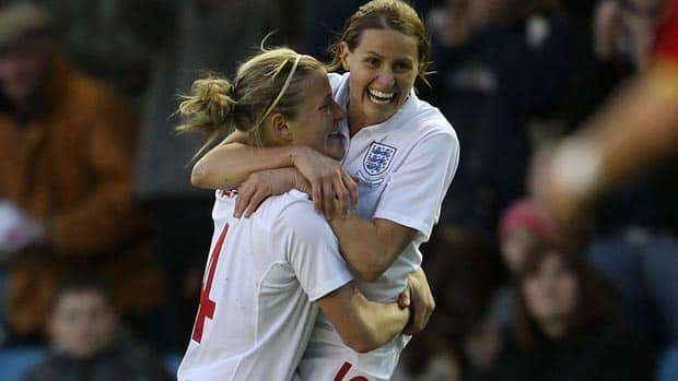 English forward Kelly Smith is one of the most dangerous goal scorers in the women's game.