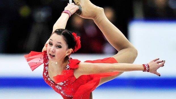 Elizaveta Tuktamisheva of Russia performs her free program Saturday to win Skate Canada, her first-ever Grand Prix title.