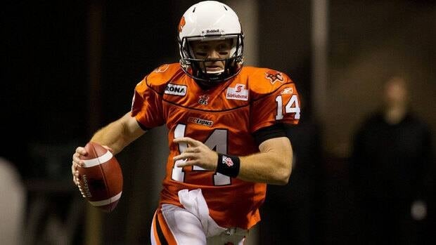 Lions quarterback Travis Lulay the West finalist for the CFL's outstanding player award.