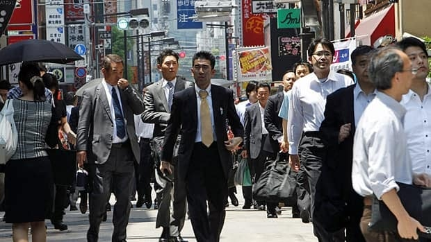 Japan's economy has fallen into recession due to the March earthquake and tsunami.