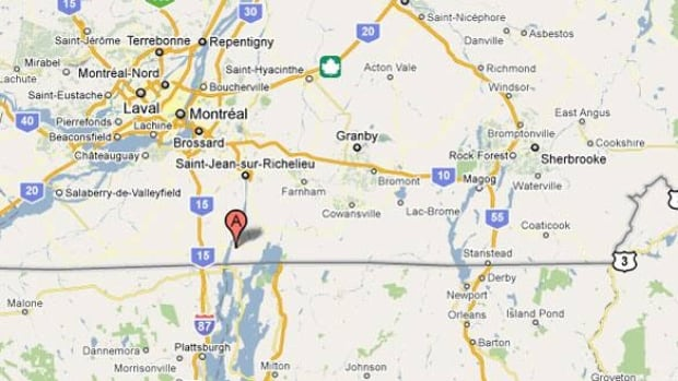 Plead Guilty In Botched Human Smuggling Run Montreal CBC News - Quebec us border map