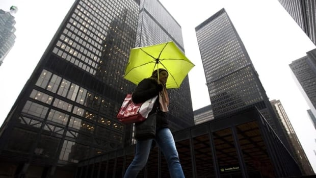 Toronto and much of southern Ontario could see as much as 40 millimetres of rain over the next two days, according to Environment Canada.