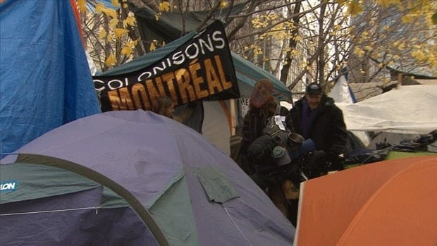 The mayor of Montreal has ordered Occupy Montreal protesters to leave.