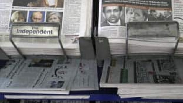 A news stand in London displays newspapers, some carrying the story on WikiLeaks' release of classified U.S. State Department documents. The online whistleblower WikiLeaks released classified U.S. diplomatic cables that reportedly raise concerns about unflattering assessments of world leaders and revelations about backstage U.S. diplomacy.