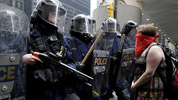 Conservative MP Blake Richards says his bill that seeks to make it an offence to wear a face covering during a riot would give police the added power they need during violent situations.