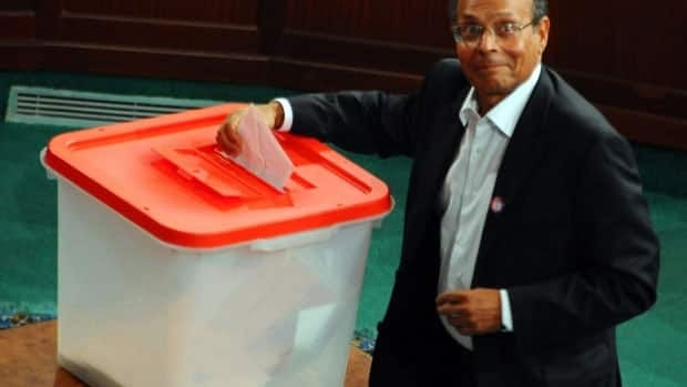 Tunisia's new assembly has chosen veteran human activist, Moncef Marzouki, as the country's first democratically elected president with 153 out of 217 votes in the assembly. Marzouki is expected to appoint a prime minister from the moderate islamist Ennahda party, which dominated October elections and leads the ruling coalition.