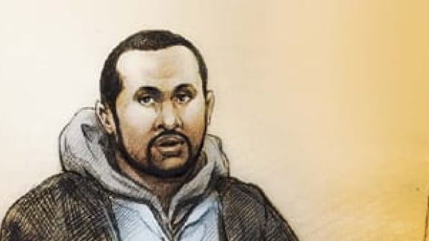Mohamed Hersi made a brief appearance in court in Brampton, Ont.