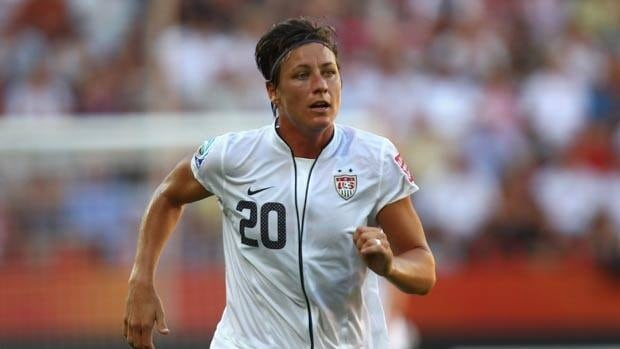American Abby Wambach has yet to score in Germany.