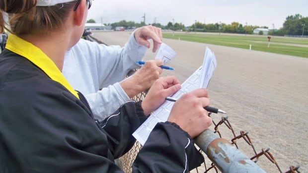 More than $40,000 was wagered Sunday during harness racing at Leamington Fairgrounds.