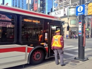 Shuttle buses used during signal upgrades on Thanksgiving weekend