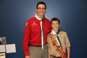 Ryan Kellar and his dad Henry