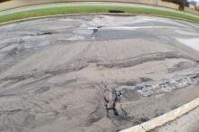 Broken water main Innes Road Orleans Boulevard