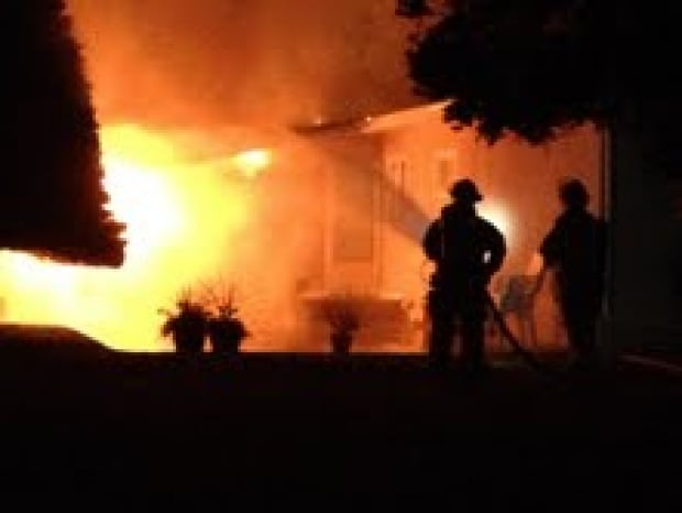 Albany Cres fire