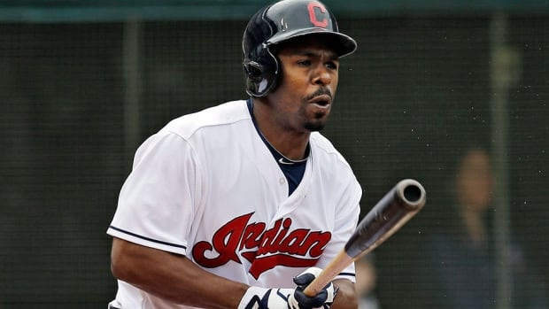 Indians centre-fielder Michael Bourn has had surgery on his hamstring, an injury suffered in the final regular-season game. He'll need six weeks to recover.