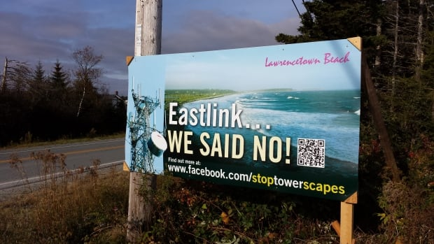 Some residents of Lawrencetown, N.S., say the tower would wreck the scenic views for which the community is famous.