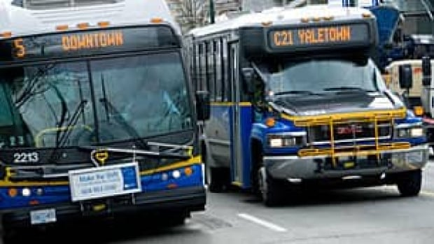 Transit police say three women attacked a female bus driver, after she asked them to leave for drinking and being disruptive.