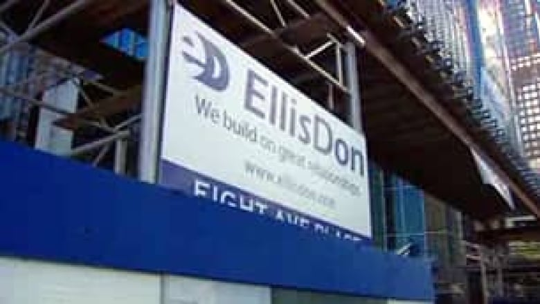 EllisDon promises to use mostly union workers | CBC News